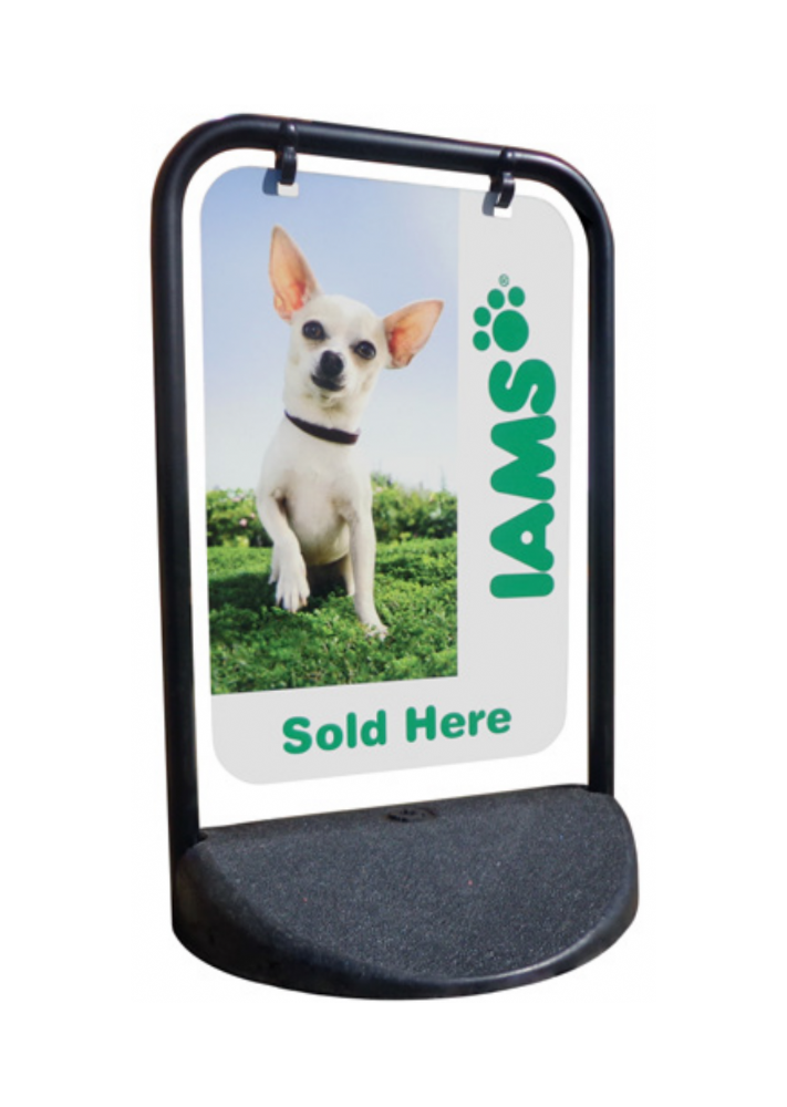 Eco Swinger (Panel Option) Pavement Sign